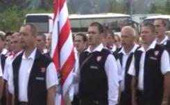 Gárdisták avatása Szentendrén