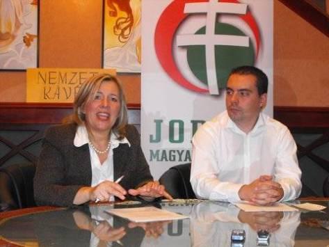 Morvai Krisztina és Vona Gábor (Fotó: Frigyesy Ágnes)