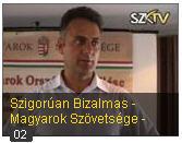 Vukics Ferenc a Szent Korona Tv-ben