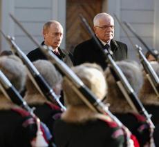 CZECH REPUBLIC RUSSIA PUTIN VISIT