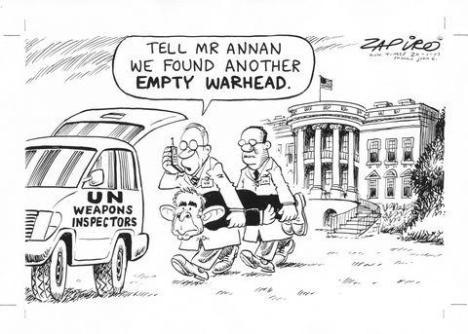 Mondja meg Annan úrnak, hogy még egy üres robbanó-fejet találtunk