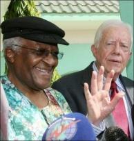 """Jimy Carter és Desmond Tutu, a két Nobel béke-díjas """"antiszemita"""""""