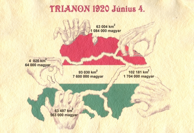 Trianon = A sátáni kötés: tépjük szét! (The Satanic Contract: Let's Shred it to Pieces!)