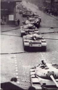 Szovjet tankok 1956. november 4-én