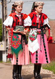 indián-magyar-népviselet