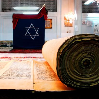 Az iszfaháni zsinagóga sok értékes régi iratot rejt. Vajon vannak-e közöttük hun nyelvemlékek?