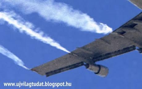 chemtrail-repülőgép