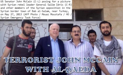 Szíria - JOHNMCCAIN-ALQAEDA