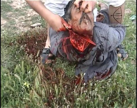 Szíria - kivégzés