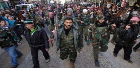 Szíria - lázadók