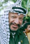Yasir Arafat at Nelson Mandela's Release