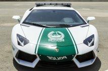 A Dubai rendőrség egyik Lamborghini gépkocsija