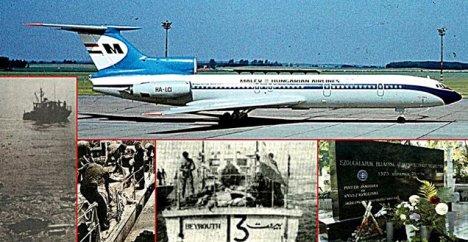 A cionista Izrael által lelőtt MALÉV 240-es járat