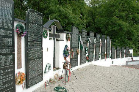 Szolyvai áldozatok emlékműve
