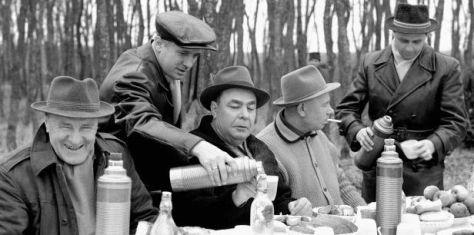 Kádár és vendégei - Soponya - 1965