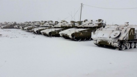 tanks in israel