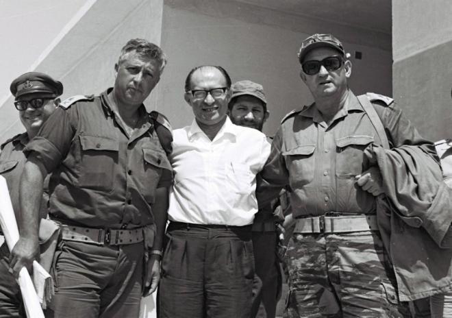 Sharon, Begin és Yoffe (1977)