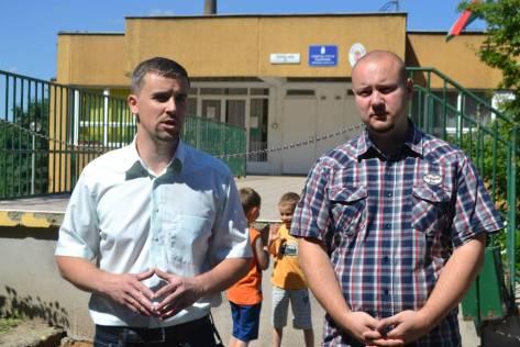 Jakab Péter és Szilágyi Szabolcs
