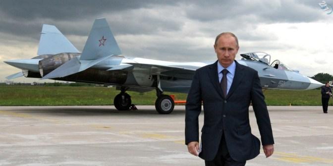 """PUTYIN: """"ELEGEM VAN!"""" """"Oroszország legyőzi az ISIS t!""""  – Orosz légibázis Szíriában"""