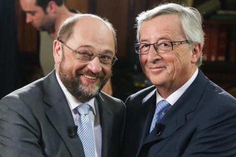 Európa és Hazánk elárulói, ellenségei: Jean-Claude-Juncker és -Martin-Schulz