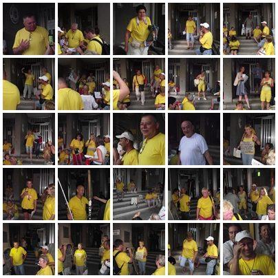 sárga pólósok
