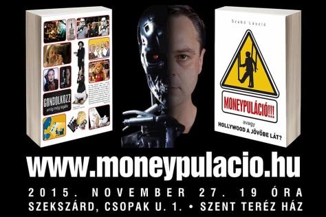 MONEYPULACIO KONYVBEMUTATO PLAKAT FACEBOOK