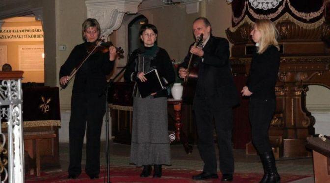 Külön koncerted ad a Credo Együttes és adventi fellépéssel kedveskedik Dévai Nagy Kamilla december 19-én