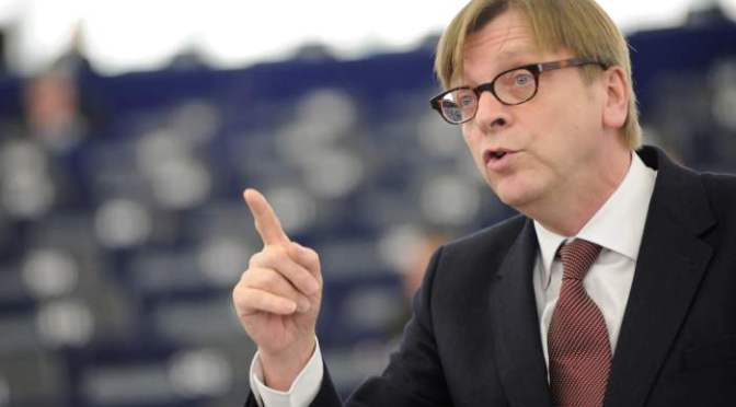 Verhofstadt szennyes manipulációja hazánk ellen az EP-ben