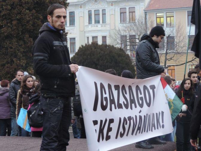 Korrupt román hatalom, engedjétek szabadon!