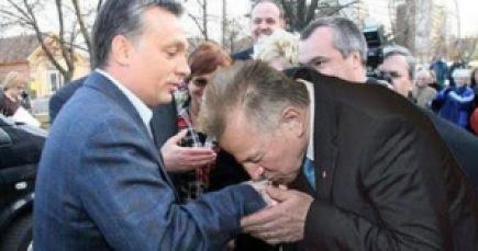 Orbán demokráciája. A kép montázs.