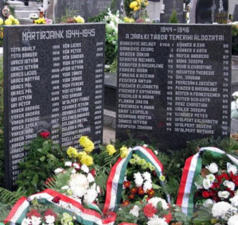 Magyar mártírok emlékműve Temerinben