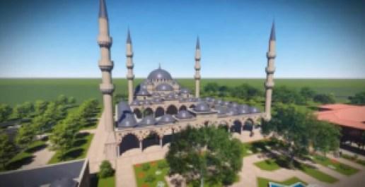 Köbányai mecset terve