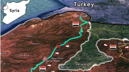 vahhabita terroristák nagy darab területeket veszítenek el és engednek át a Szíriai Hadseregnek