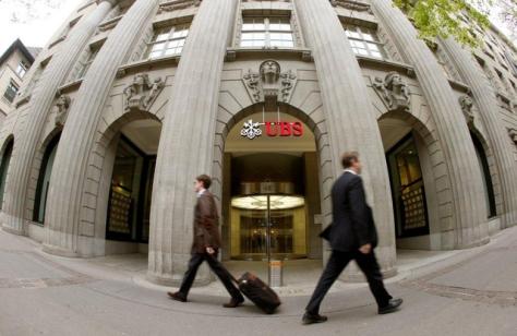 UBS fő székhelye Zürichben