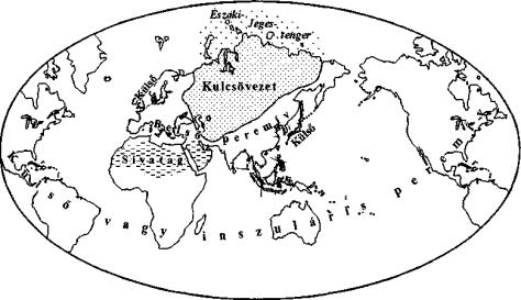 A világ Mackinder elképzelése szerint