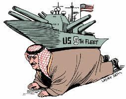amerikai haditámaszpont Bahrainban_gunyrajz