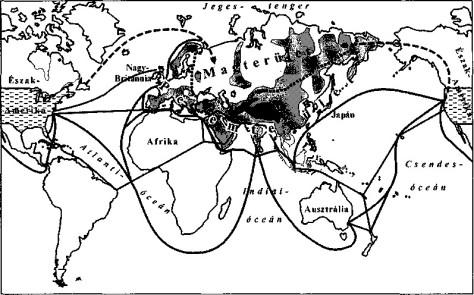 Eurázsia geopolitikai térképe