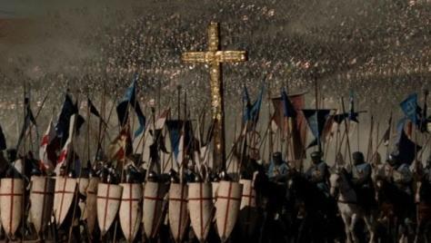 Keresztény sereg gyülekezik hogy megütközzön az Iszlám Állam ellen