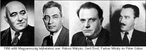 kommunista-vezetök-1956-elött_Rakosi_Gerö_Farkas_Peter