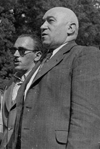 Péter Gábor és Rákosi Mátyás, a két skorpió