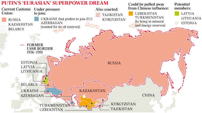 Geopolitikai tanulmányok: EURÁZSIA POLITIKAI TÉRKÉPE*, II. rész