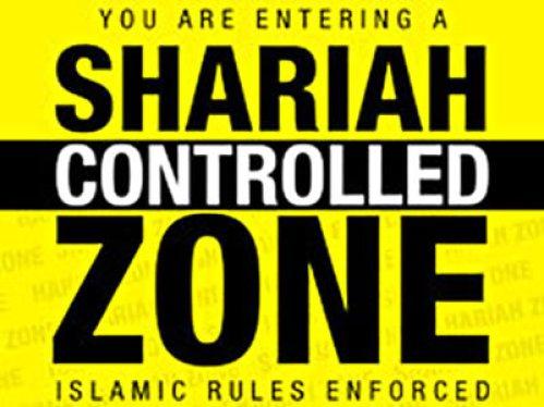 Muzulmán törvények által ellenőrzött terület!
