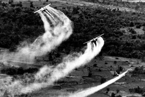 Agentorange kiszorása Vietnamban