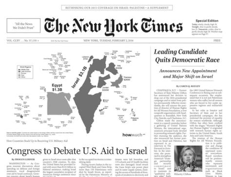 Az ál New York Times, amiben megírják az igazságot