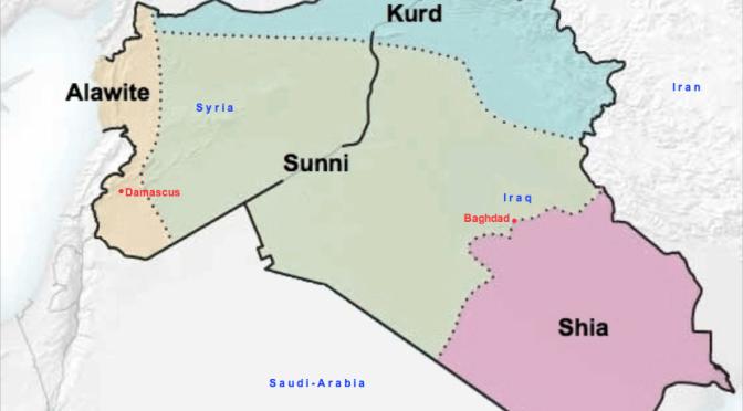 Átrajzolódhat a Közel-Kelet térképe. Irak és Szíria: eltűnnek a gyarmati határok?