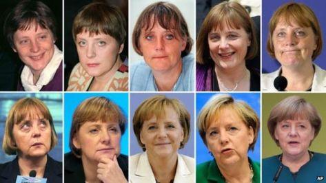 Merkel átalakulásainak lépcsőfokai