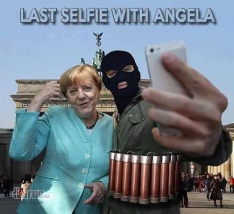 Merkel utolsó szelfije!