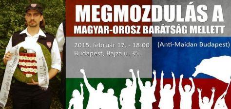 A kép a tavalyi tüntetésen készült!