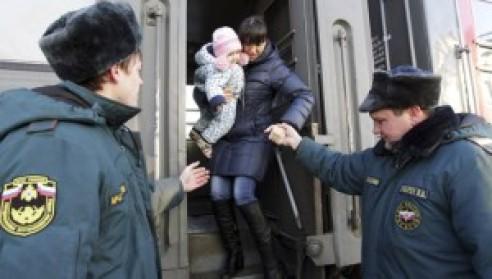 Ukrán menekültek Oroszországban