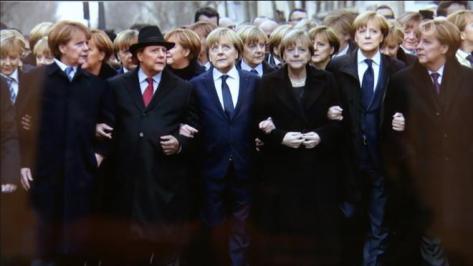 Angela Merkel gyalogezred